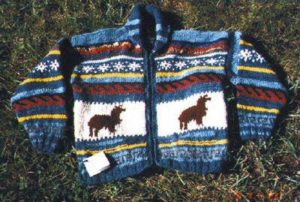 alpaca child's sweater