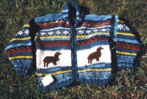 alpaca child's sweater
