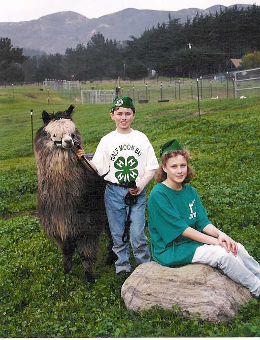 4H Kids with Alpaca
